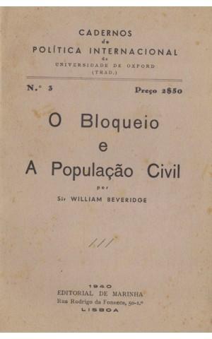 O Bloqueio e a População Civil | de William Beveridge
