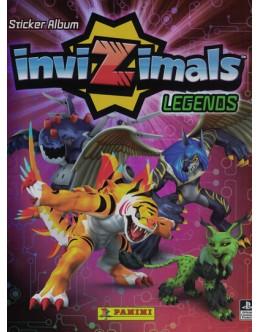 Invizimals Legends Sticker Album