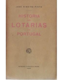 História das Lotarias em Portugal | de José Ribeiro Pinto