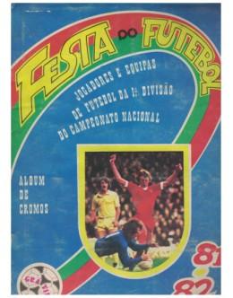 Caderneta Completa - Festa do Futebol 81/82