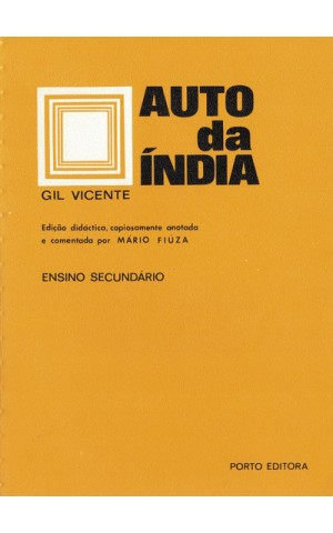 Auto da Índia | de Gil Vicente