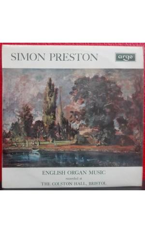 Simon Preston | English Organ Music [LP]