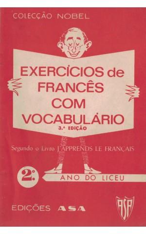 Exercícios de Francês com Vocabulário - 2.º Ano dos Liceus