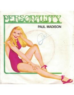 Paul Madison   Personality [Single]