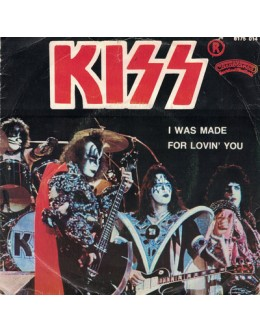 Kiss   I Was Made For Loving You [Single]