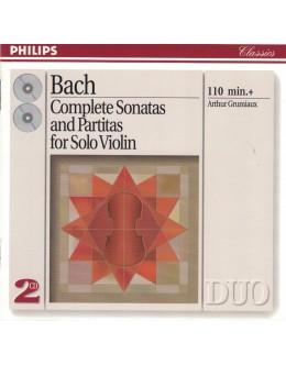 Bach / Arthur Grumiaux | Complete Sonatas and Partitas for Solo Violin [2CD]
