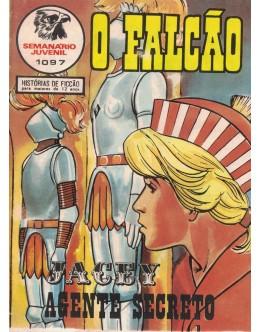 O Falcão - N.º 1097 - Jacey Agente Secreto