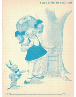 "Cadernos Escolares Nice - ""A Alice no País das Maravilhas"""