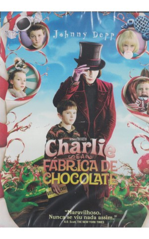 Charlie e a Fábrica de Chocolate [DVD]