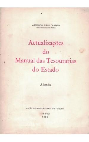 Actualizações do Manual das Tesourarias do Estado - Adenda | de Armando Dinis Caneiro