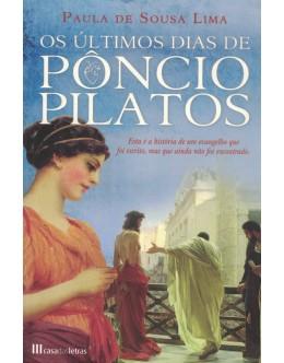 Os Últimos Dias de Pôncio Pilatos | de Paula de Sousa Lima