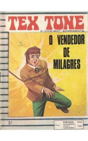 Tex Tone - N.º 81 - O Vendedor de Milagres