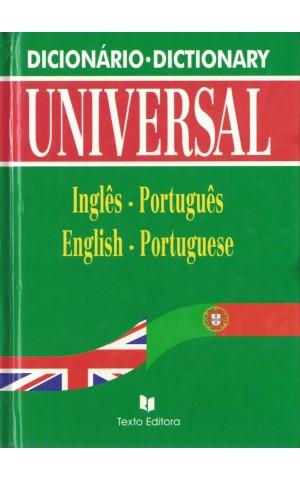 Dicionário Universal Inglês-Português English-Portuguese