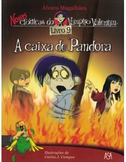 Novas Crónicas do Vampiro Valentim - Livro 9 - A Caixa de Pandora | de Álvaro Magalhães