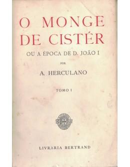 O Monge de Cistér [2 Volumes] | de Alexandre Herculano
