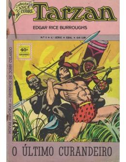 Tarzan - N.º 4 - 4.ª Série (Coleção Lança de Cobre 25)