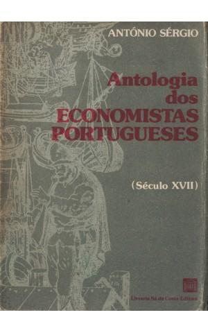 Antologia dos Economistas Portugueses (Século XVII)   de António Sérgio