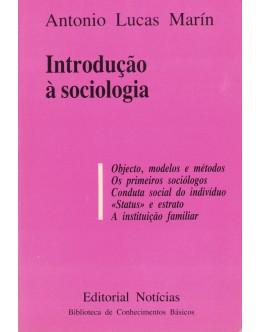 Introdução à Sociologia | de Antonio Lucas Marín