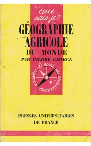 Géographie Agricole du Monde | de Pierre George