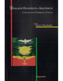 Diálogos Filosóficos e Alquímicos   de Victor Mendanha