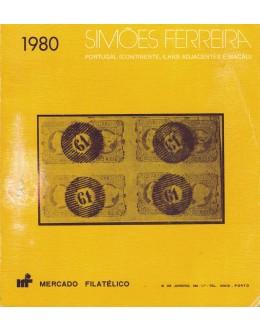 Simões Ferreira - Catálogo de Selos Postais 1980