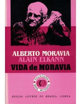Vida de Moravia   de Alberto Moravia e Alain Elkann