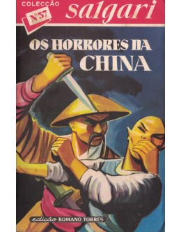 Os Horrores da China | de Emilio Salgari