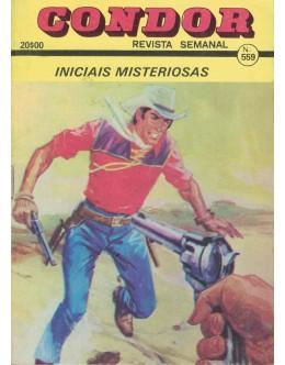 Condor - N.º 559 - Iniciais Misteriosas