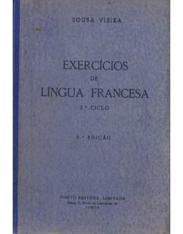 Exercícios de Língua Francesa | de José de Sousa Vieira