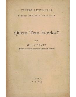 Quem Tem Farelos? | de Gil Vicente