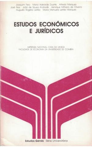 Estudos Económicos e Jurídicos | de Vários Autores