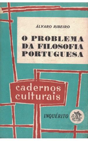 O Problema da Filosofia Portuguesa   de Álvaro Ribeiro