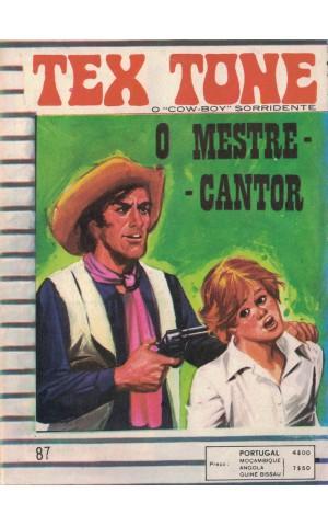 Tex Tone - N.º 87 - O Mestre-Cantor