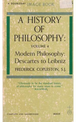 A History of Philosophy - Volume 4 | de Frederick Copleston