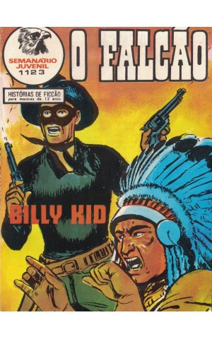 O Falcão - N.º 1123 - Billy Kid