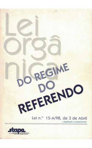 Lei Orgânica do Regime do Referendo