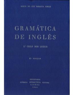 Gramática de Inglês | de Maria do Céu Saraiva Jorge