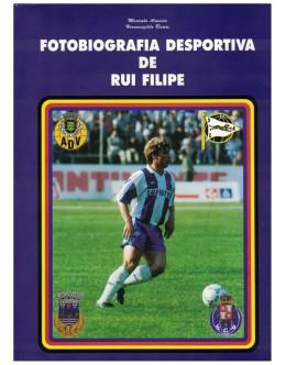 Fotobiografia Desportiva de Rui Filipe | de Martinho Almeida e Hermenegildo Ramos