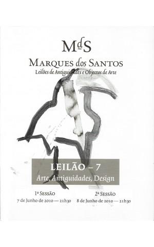 Marques dos Santos - Leilão - 7 - Arte e Antiguidades - 7 e 8 de Junho de 2010