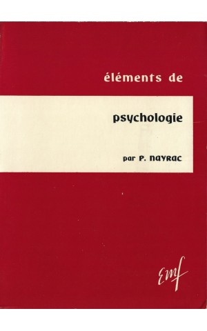 Éléments de Psychologie | de Paul Nayrac