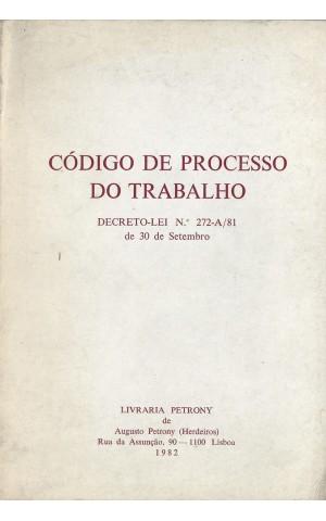 Código de Processo do Trabalho