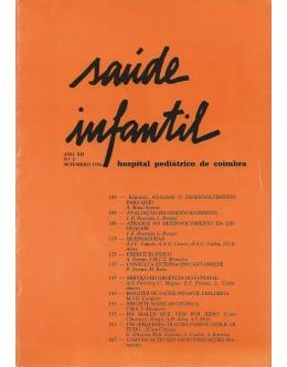 Saúde Infantil - Ano XII - N.º 2 - Setembro de 1990