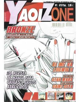 Yaoi Zone - N.º 1 - Noviembre 2001