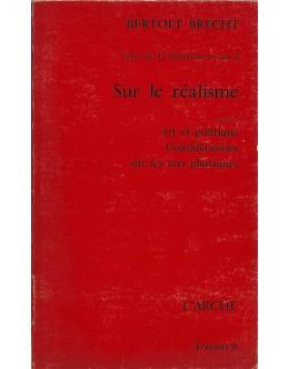 Sur le Réalisme | de Bertolt Brecht