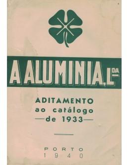 A Aluminia, Lda. - Aditamento ao Catálogo de 1933