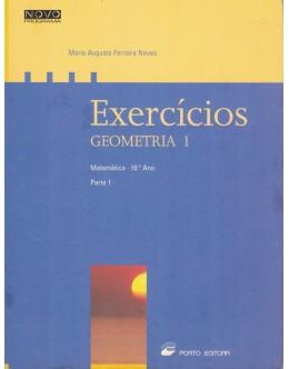 Exercícios de Geometria I - Matemática 10.º Ano - Parte 1 | de Maria Augusta Ferreira Neves