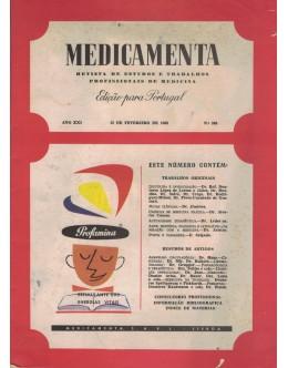 Medicamenta - Ano XXI - N.º 388 - 15 de Fevereiro de 1963