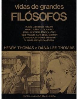 Vidas de Grandes Filósofos   de Henry Thomas e Dana Lee Thomas