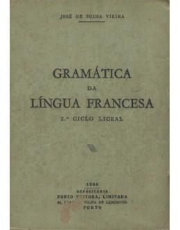 Gramática da Língua Francesa   de José de Sousa Vieira