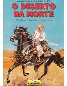 As Aventuras do Corcel Negro - O Deserto da Morte | de Walter Farley, Robert Génin e Michel Faure
